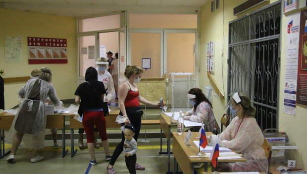 Явка на голосовании по Конституции почти во всех округах Подмосковья превысила 60%