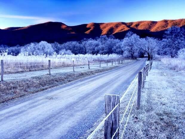 Winter_Road_Wallpaper_1024x768_wallpaperhere (700x525, 323Kb)