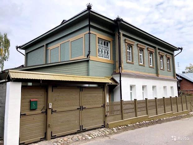 Почем в Плёсе продают особняк семьи экс-мэра Иваново
