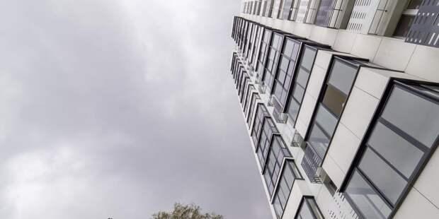 Работы в башне будущего офисного квартала в Бумажном проезде практически завершены