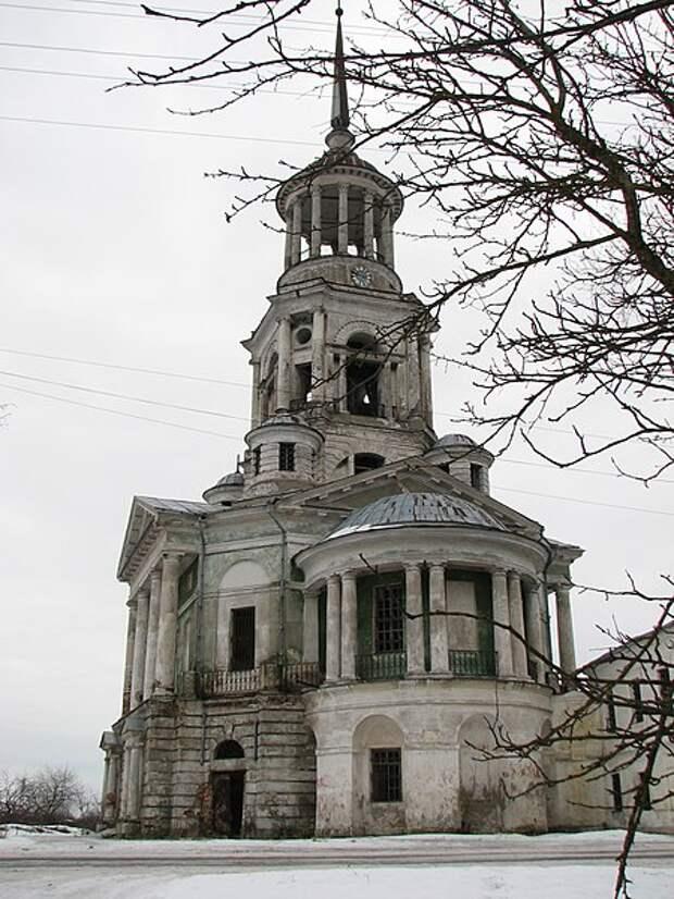 Надвратная Спасская церковь Борисоглебского монастыря