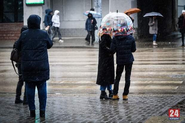 В Крым вернётся снежная морозная зима