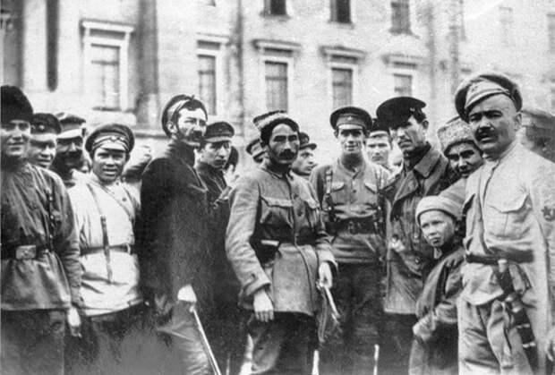 Командный состав Башкирской отдельной кавалерийской дивизии Красной армии, 1919 год