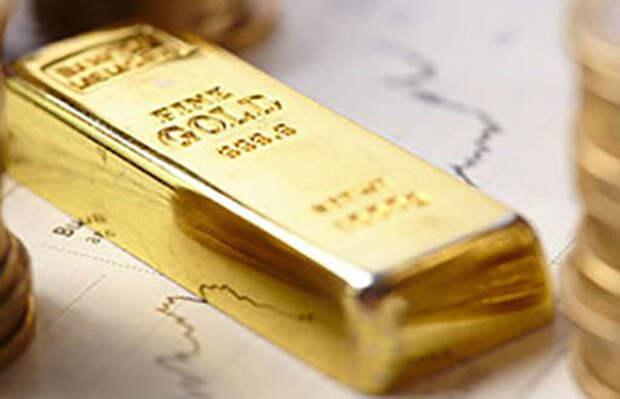 Хотя золото упало, правительство США объявило о своей слабости