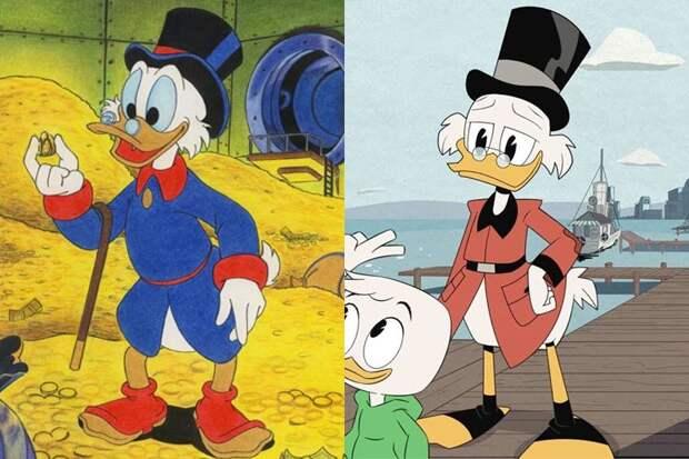 Вот как выглядят старые добрые мультфильмы сейчас