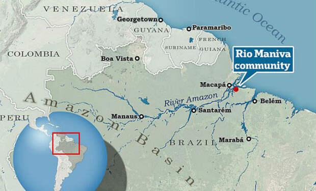 Девочка потерялась в Амазонской Сельве и 5 дней жила как Беар Гриллс