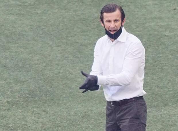 Сергей Семак объяснил, почему в начале игры «Динамо» владело преимуществом и могло забить