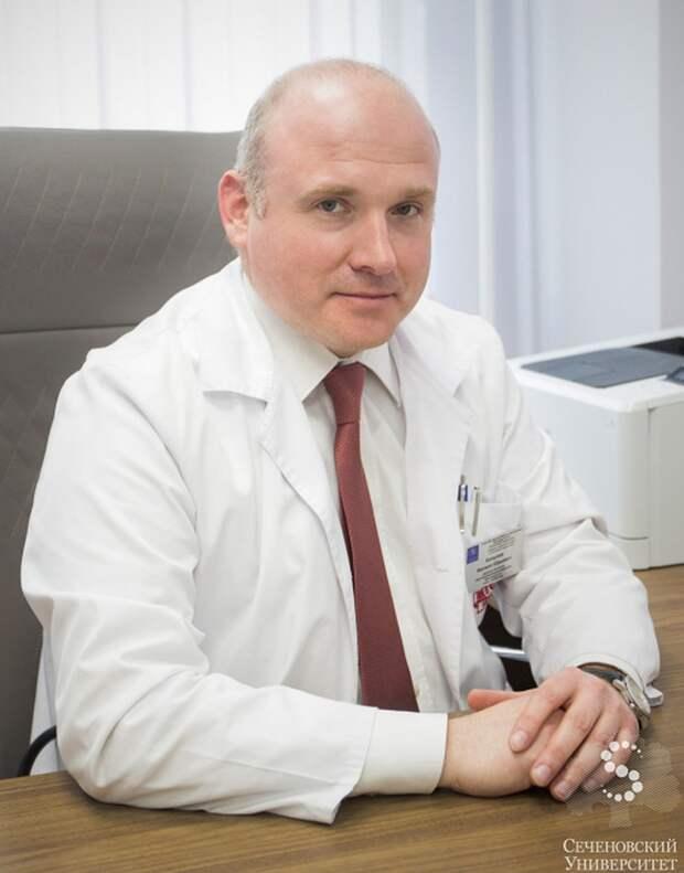Директор Института персонализированной медицины Сеченовского университета, доктор медицинских наук, врач-кардиолог Филипп Копылов.