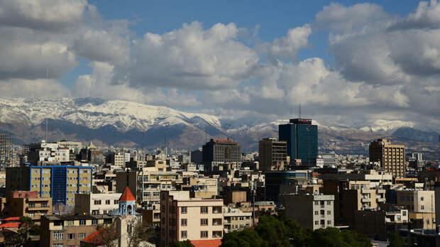 В Иране произошло землетрясение магнитудой 5,3