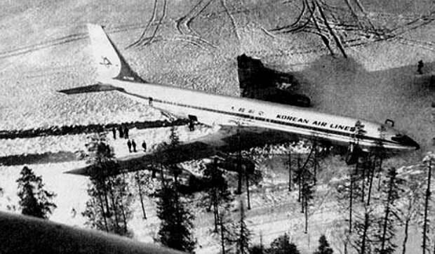 """20 апреля 1978-го. Как СССР сбил над Карелией корейский """"Боинг-707-321B""""."""