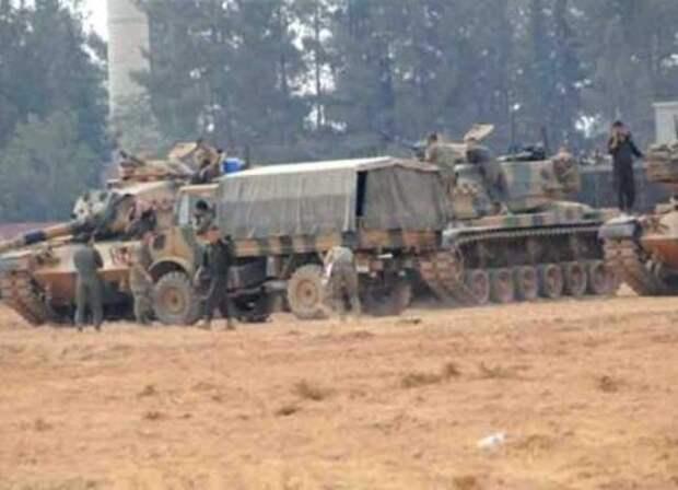 Турецкие военные зашли на территорию Армении