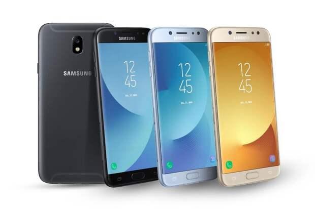 Неожиданно: Samsung Galaxy J5 и Galaxy J7 2017 года выпуска получили новую прошивку с множеством исправлений