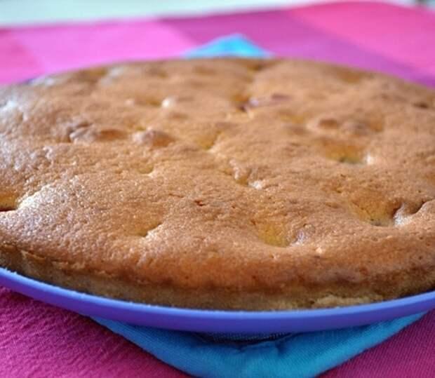 Вишневый пирог.