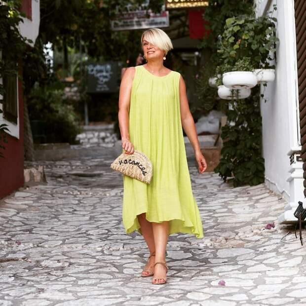 Летний минимализм для женщин в возрасте
