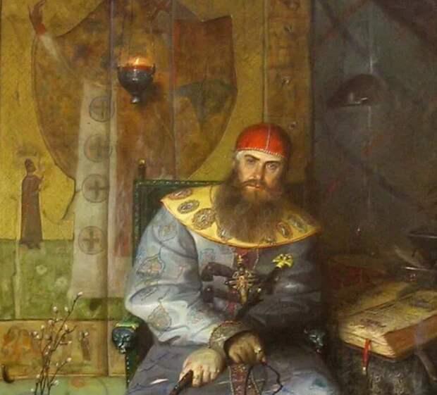 Царь Алексей Михайлович, художник П.Рыженко