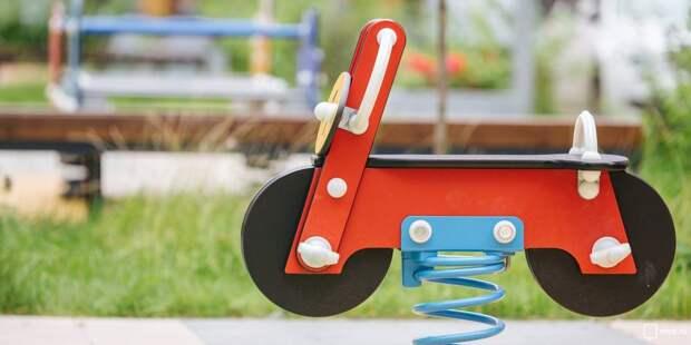 На Челобитьевском шоссе отремонтируют детские площадки