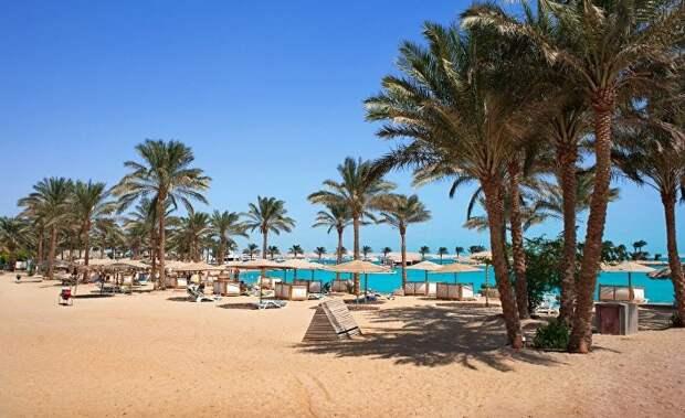Пляж в Хургаде, Египет
