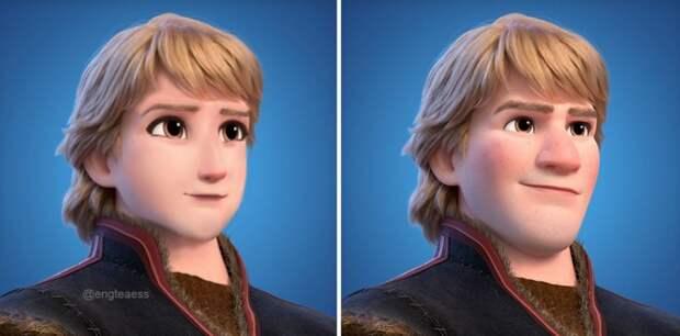 Вот как бы выглядела Эльза из «Холодного сердца» без макияжа