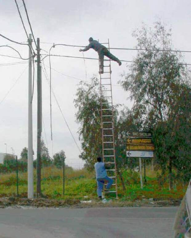 Техника безопасности в действии и бездействии (27 фото)