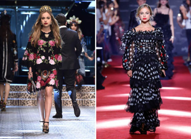 Показ Dolce & Gabbana FW 2017-18 гг.\ Шоу Dolce & Gabbana Secret Show SS 2018 год.
