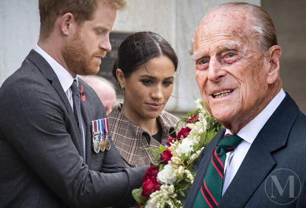 Интервью принца Гарри и Меган Маркл довело принца Филиппа