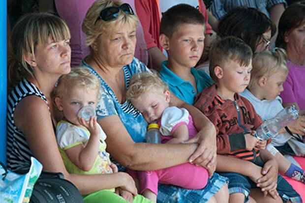 Ополченцы насчитали 825 тысяч беженцев из Донбасса