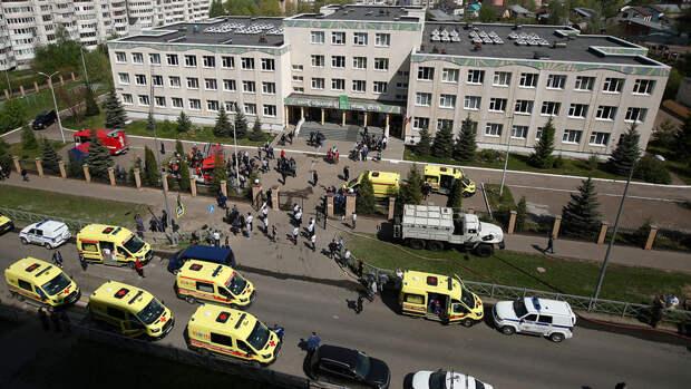 Восемь пострадавших при стрельбе в школе в Казани находятся в тяжелом состоянии