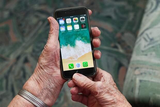 В современных телефонах - большой дисплей и хорошая камера / Фото: pixabay.com