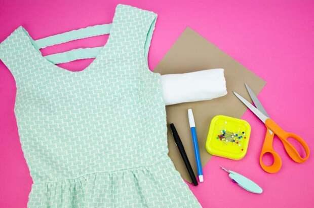 Простой способ сделать карманы на любом платье