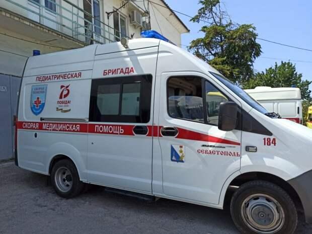 Спецбригады «скорой» создали в Севастополе для оказания помощи детям