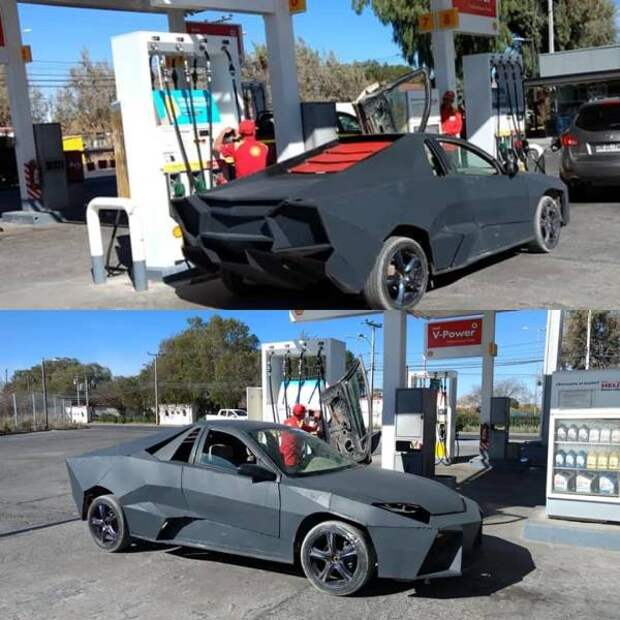 Самодельный Lamborghini