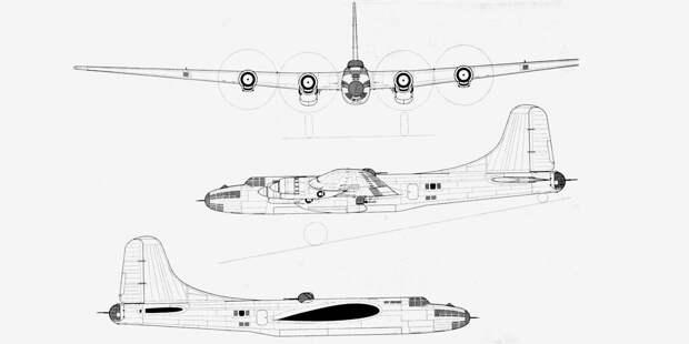 Проект бомбардировщика Т — глубокая модернизация Пе-8. Витоге мог получиться самолёт уровня В-17. Нов1943году наэто небыло ресурсов, ак 1945-му он устарел