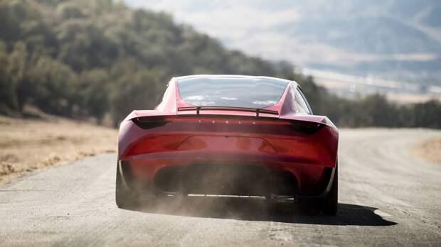 Илон Маск: Новый Tesla Roadster сможет летать. Без шуток