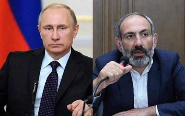 Премьер Армении позвонил Путину