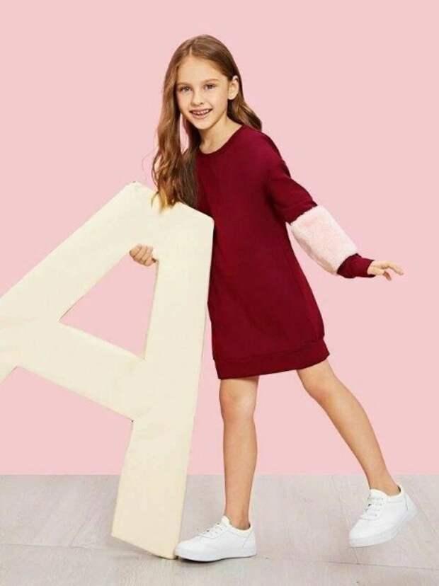 спортивная детская модная одежда для девочек