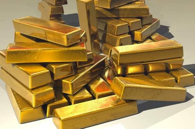 Экспорт российского золота в марте вырос почти в два раза