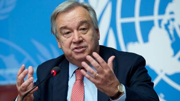 Гутерреш выразил надежду на очный формат недели высокого уровня ГА ООН
