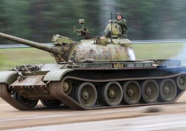 Т-54 — основной средний танк советской армии