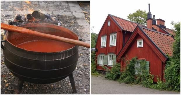 Рецепт скандинавской краски из натуральных компонентов, которую не нужно обновлять годами