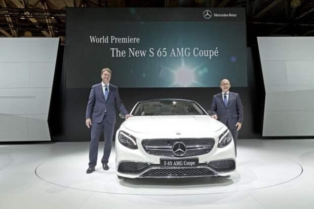 Mercedes S65 AMG Coupe дебютировал в Москве