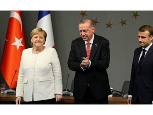 Меркель Макрону по Турции не товарищ: Франция близка к моменту истины