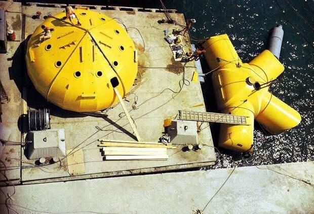Как Жак-Ив Кусто три месяца жил и работал на самом дне океана