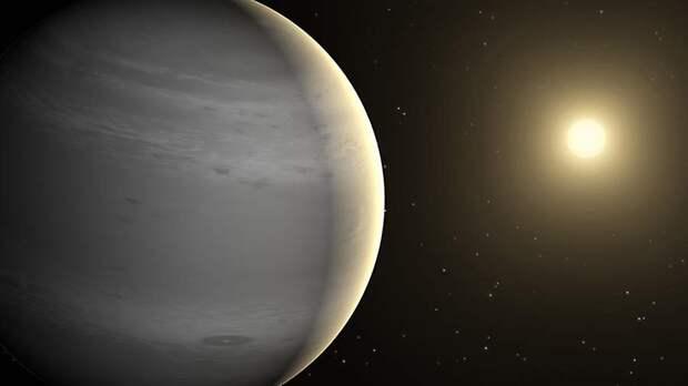 Астрономы обнаружили облака на горячем сатурне