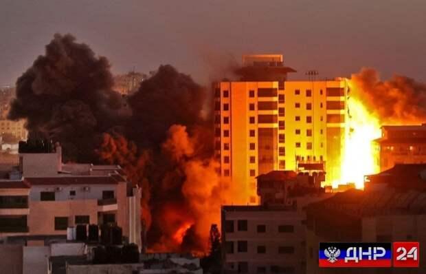 Израиль нанес страшный удар по сектору Газа (ФОТО)