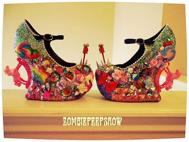 Обувь Zombie Pipshow только для смелых девушек