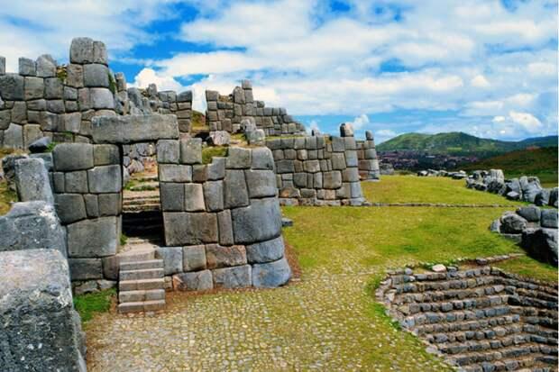 Загадки стен Саксайуамана Куско Перу