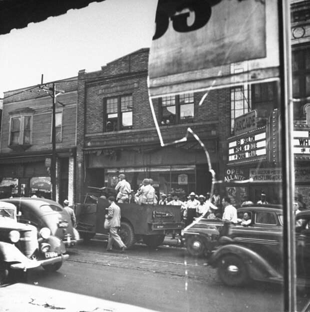 Бунт в Детройте, 1943 год.