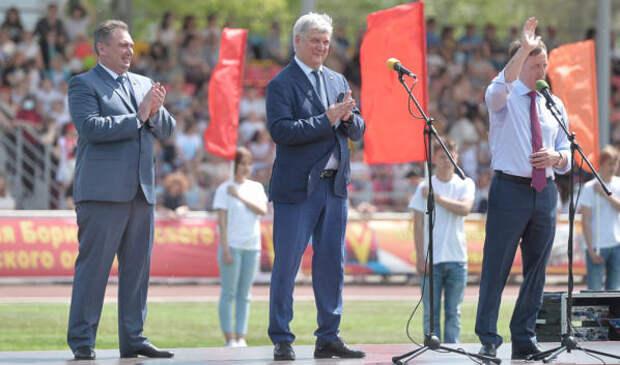 Губернатор Александр Гусев: На улучшение жизни в Борисоглебске выделяем 1 млрд рублей в 2021 году