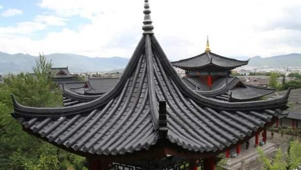 Почему в Китае и Японии крыши старинных сооружений имеют изогнутую форму