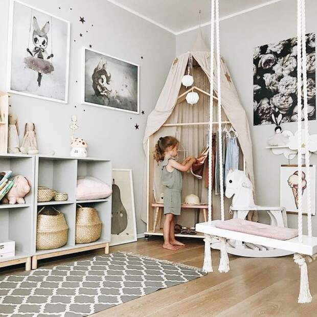 Еще раз о домиках в детской